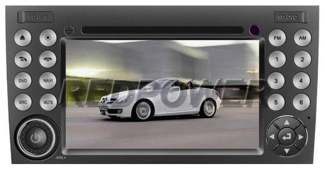 Автомагнитола RedPower GPS-8996 Mercedes-Benz SLK-класс II (R171)