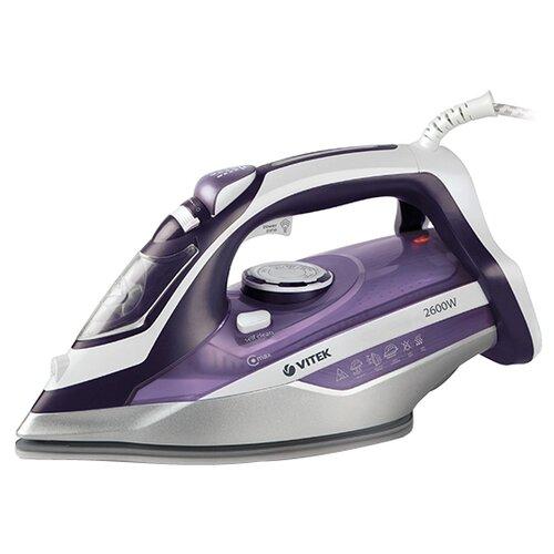 Утюг VITEK VT-8318 фиолетовый/серый/белый отпариватель vitek vt 1287 vt белый фиолетовый