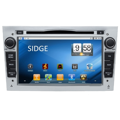 Автомагнитола SIDGE Opel VECTRA (2005-2008) Android 2.3