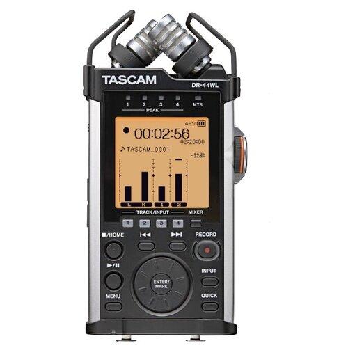 Портативный рекордер Tascam DR-44WL черный/серебристый