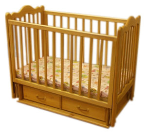 Кроватка Славяне Дюймовочка