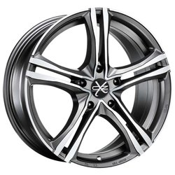 Колесные диски OZ Racing X5B 7.5x17/5x112 D75 ET50 Matt Graphite D.C.
