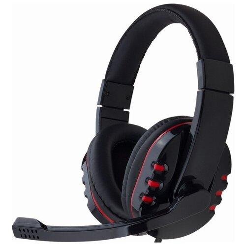 Компьютерная гарнитура Gembird MHS-782 черный mhs g500l