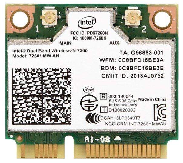 Bluetooth+Wi-Fi адаптер Intel 7260HMW.AN