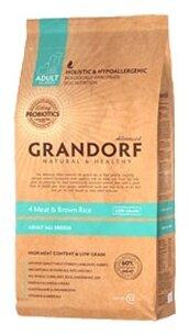 Grandorf 4 Meat & Brown Rice Все породы (12 кг)