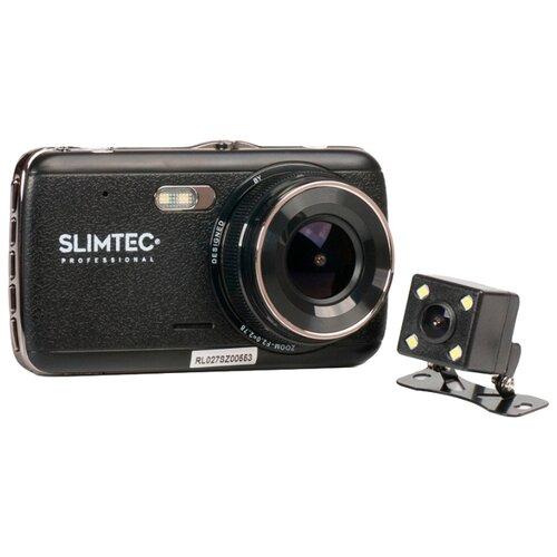 Видеорегистратор Slimtec Dual S2, 2 камеры черный