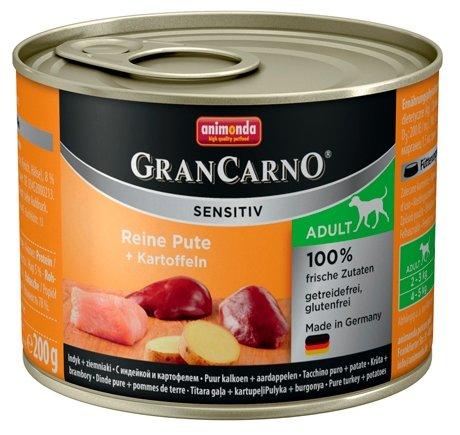 Корм для собак Animonda GranCarno индейка с картофелем 200г
