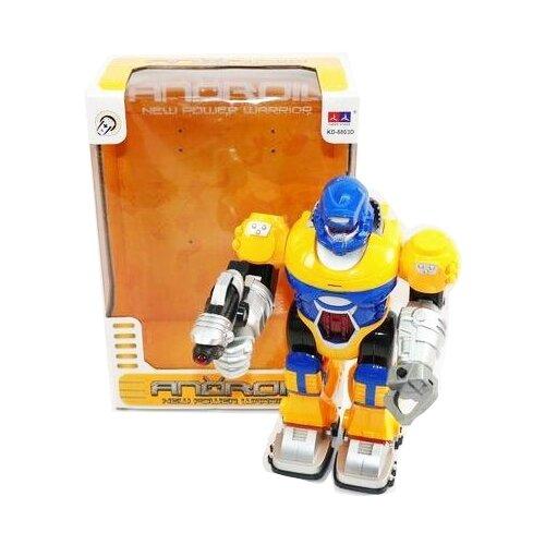 Купить Робот Shantou Gepai Android KD-8803D желто-синий, Роботы и трансформеры