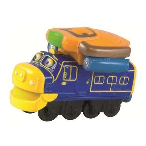 "Железная дорога Chuggington Локомотив ""Брюстер"" со светом и звуком, серия Die-Cast, LC54048"