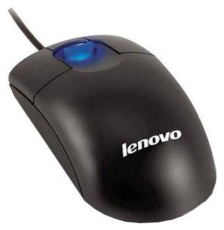 Мышь Lenovo Scrollpoint Mouse Black USB+PS/2