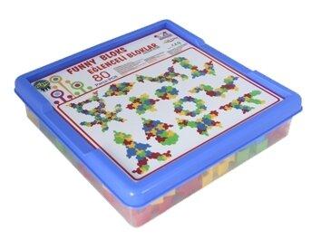 Конструктор pilsan Funny Blocks 03-259 80 деталей