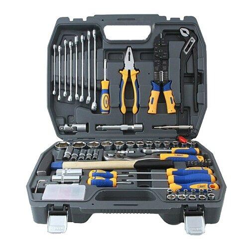 Набор инструментов KRAFT (99 предм.) KT 700307 набор инструментов kraft professional с сумкой 23 предметов