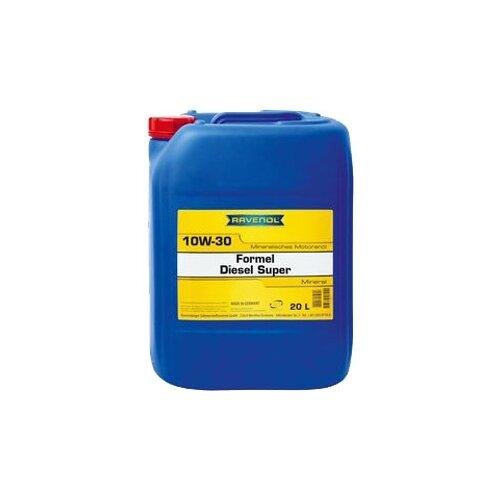 Минеральное моторное масло Ravenol Formel Diesel Super SAE 10W-30, 20 л недорого