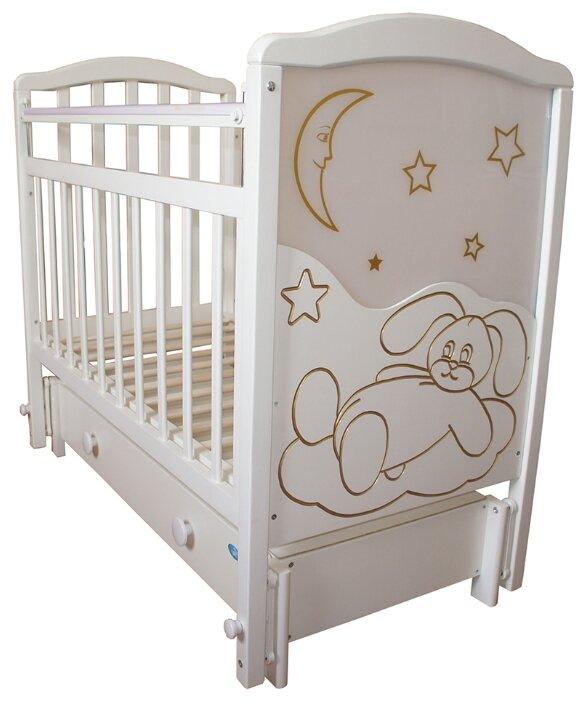 Кроватка Мой малыш 12 (маятник продольный)