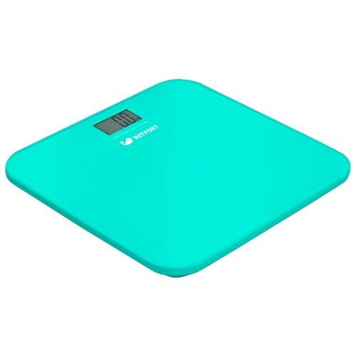 Весы Kitfort КТ-804-1 бирюзовыеНапольные весы<br>