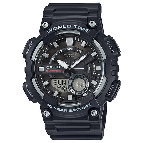 Наручные часы CASIO AEQ-110W-1A мужские часы casio aeq 110w 1a