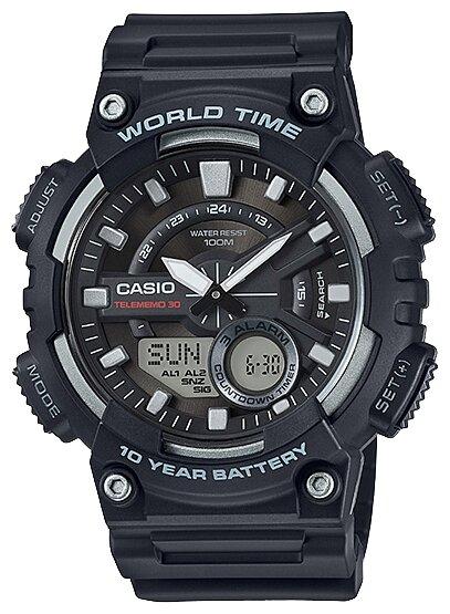 Наручные часы CASIO AEQ-110W-1A — цены на Яндекс.Маркете