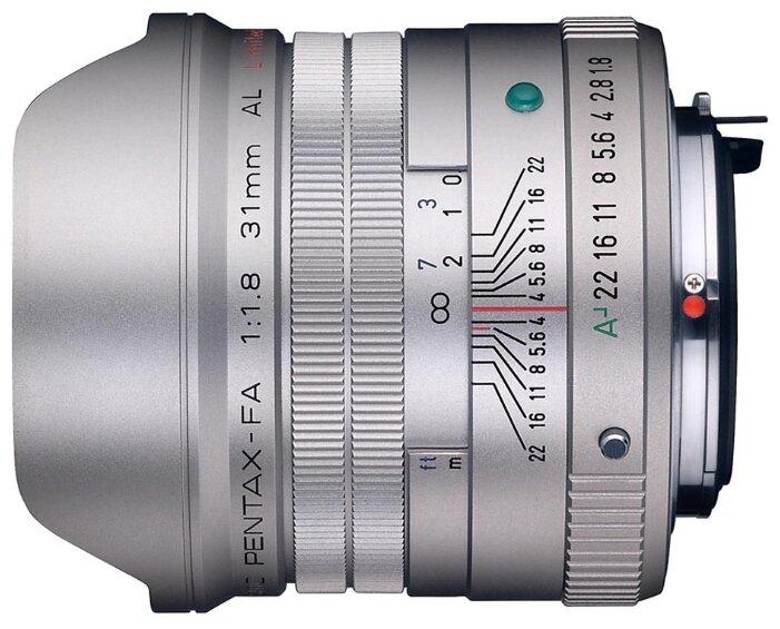 Объектив Pentax SMC FA 31mm f/1.8 AL Limited