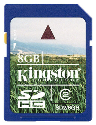 Карта памяти Kingston SD2