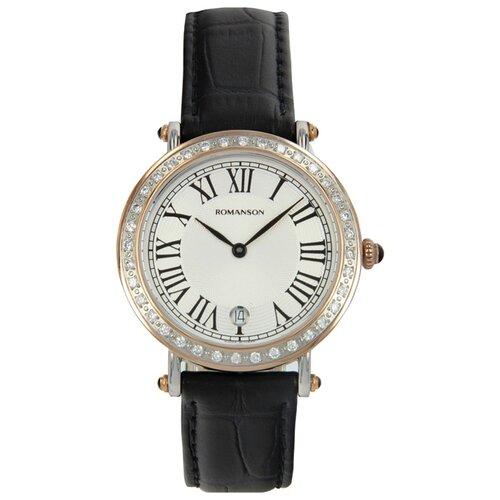 Наручные часы ROMANSON RL1253QLJ(WH)BK romanson tl 1272j mg wh bk