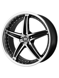 Колесный диск Motegi Racing MR107 Black Machined 8.5x20 5x108 DIA72.62 ET42 - фото 1