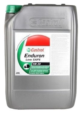 Моторное масло Castrol Enduron Low SAPS 5W-30 20 л