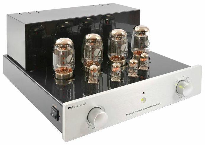PrimaLuna ProLogue Premium Integrated (EL34) Silver