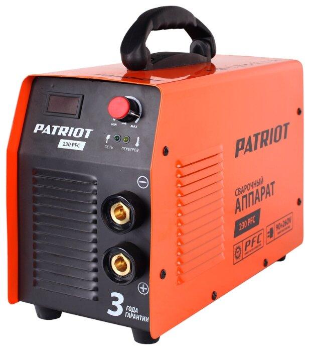 Сварочный аппарат PATRIOT 230 PFC