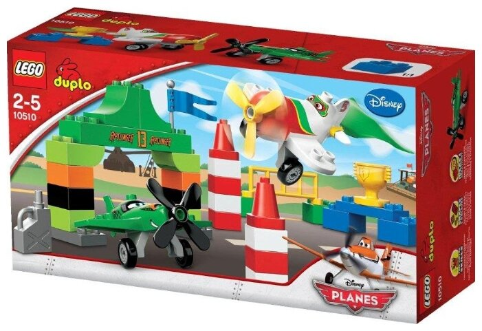 Конструктор LEGO DUPLO 10510 Воздушная гонка Рипслингера