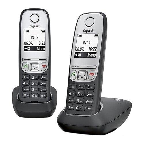 Фото - Радиотелефон Gigaset A415 Duo черный радиотелефон dect gigaset a415 черный