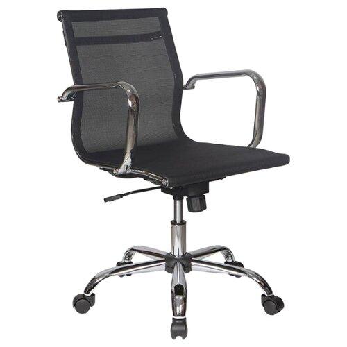 Компьютерное кресло Бюрократ CH-993-Low (обивка из сетки) для руководителя, обивка: текстиль, цвет: черный