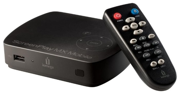 Медиаплеер Iomega ScreenPlay MX Mobile HD 500Gb