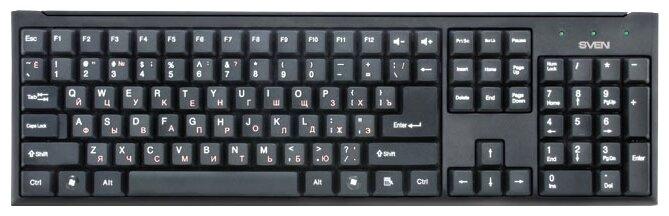 Клавиатура SVEN Standard 303 Black PS/2