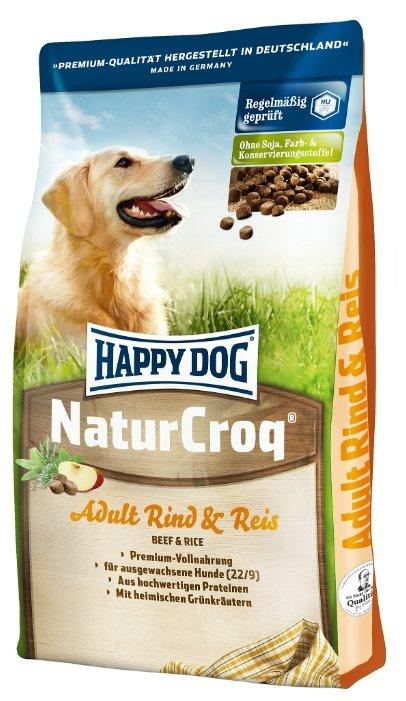 Happy Dog NaturCroq Rind&Reis (говядина с рисом) (4 кг)