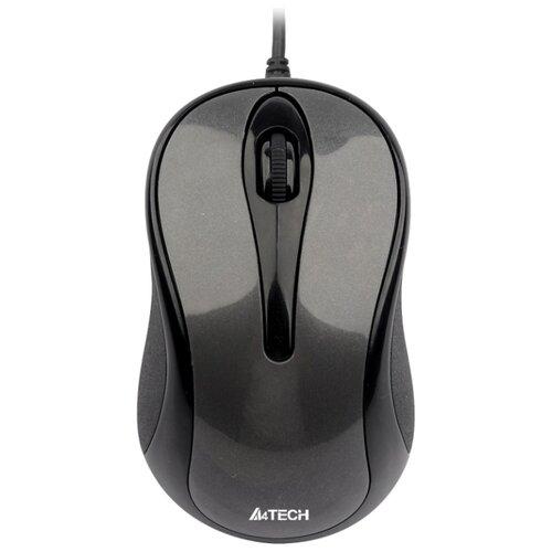 Купить Мышь A4Tech N-350-1 Black-Grey USB
