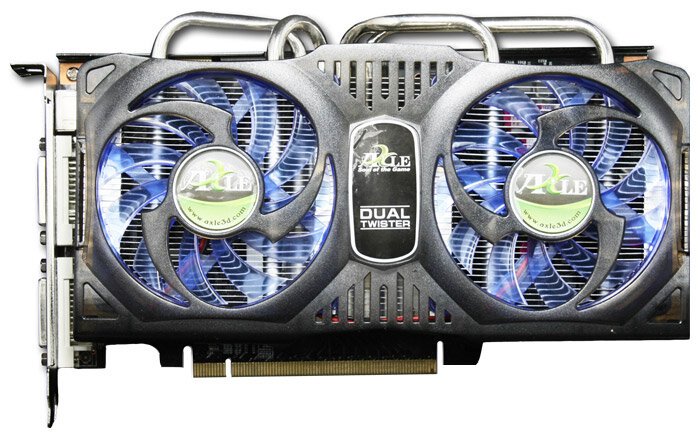 Axle GeForce 9800 GT 600Mhz PCI-E 2.0 1024Mb 1800Mhz 256 bit 2xDVI HDMI HDCP