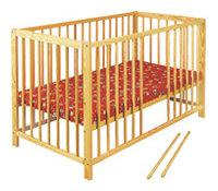 Кроватка Klups Radek X (с колесами)