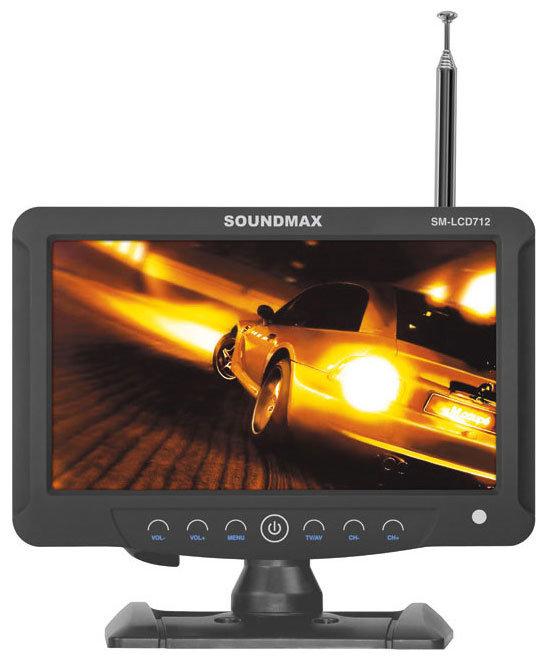 Автомобильный телевизор SoundMAX SM-LCD712