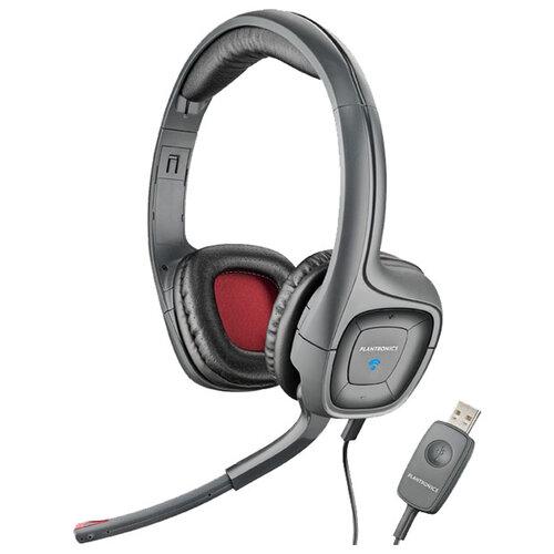 Компьютерная гарнитура Plantronics .Audio 655 DSP серый