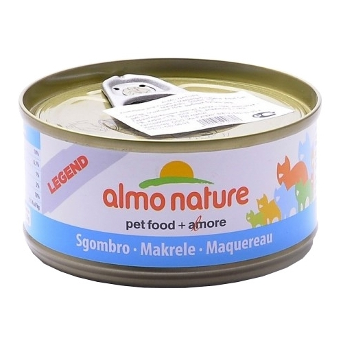 Корм для кошек Almo Nature (0.07 кг) 1 шт. Legend Adult Cat Mackerel