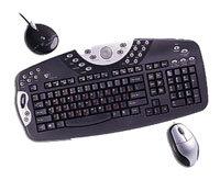 Клавиатура и мышь SVEN Wireless Multimedia Pro 9400 Black PS/2