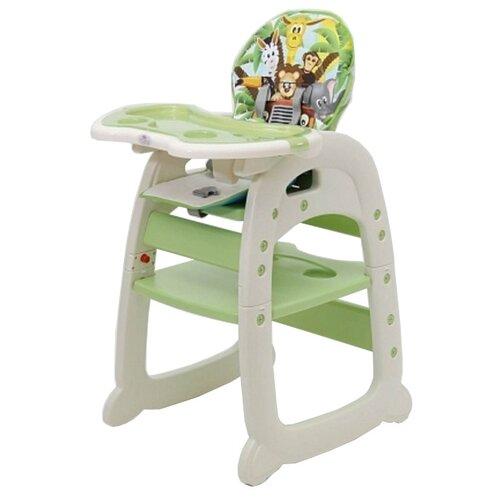 Купить Стульчик-парта Polini 460 зеленый, Стульчики для кормления