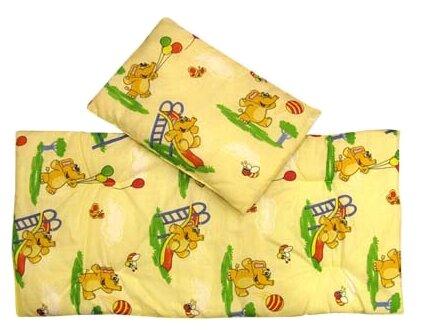 Комплект для люльки Евротек Матрас + подушка (холофайбер)