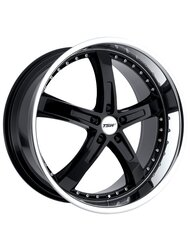 Диски TSW Jarama 8,0x18 5x112 D72 ET32 цвет Gloss Black Mirror Lip - фото 1