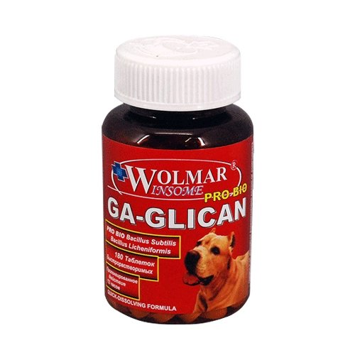 Добавка в корм Wolmar Winsome Pro Bio Ga-Glican 180 таб.