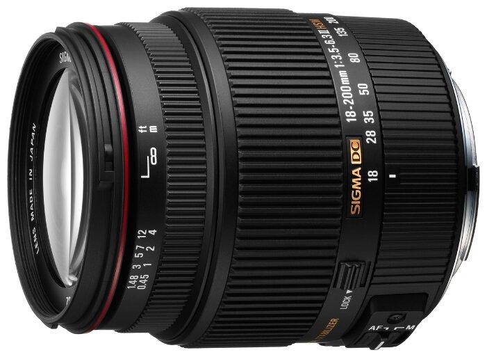 Sigma Объектив Sigma AF 18-200mm f/3.5-6.3 II DC OS HSM Canon EF-S