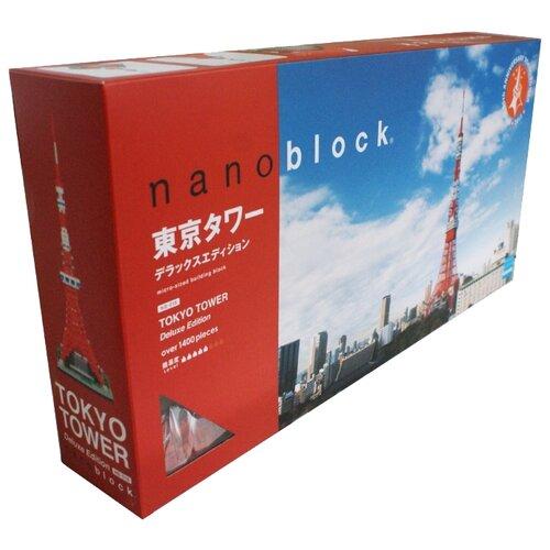 Конструктор Nanoblock Deluxe Edition NB-018 Токийская телебашня конструктор lno gift series 018 локи