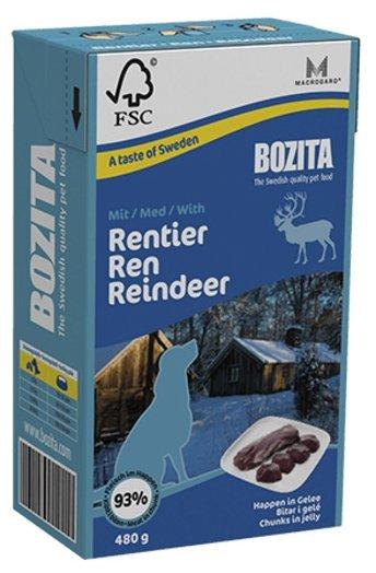 Корм для собак Bozita оленина 480г