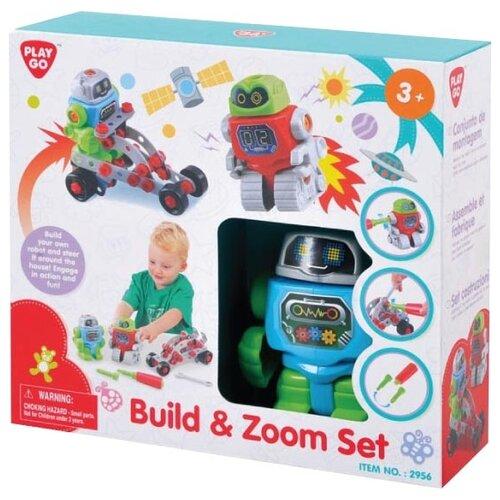 Винтовой конструктор PlayGo 2956 Строй и воображай игровой набор playgo хозяюшка