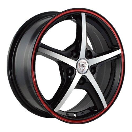 Фото - Колесный диск NZ Wheels SH667 7x17/5x105 D56.6 ET42 BKFRS колесный диск nz wheels sh667 7x17 5x110 d65 1 et39 bkfrs